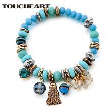 Toucheart золотые браслеты дизайн девушки браслет с Цветные