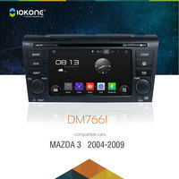IOKONE Android 4 2 2 Car DVD Player For Old Mazda 3 2004 2005 2006 2007