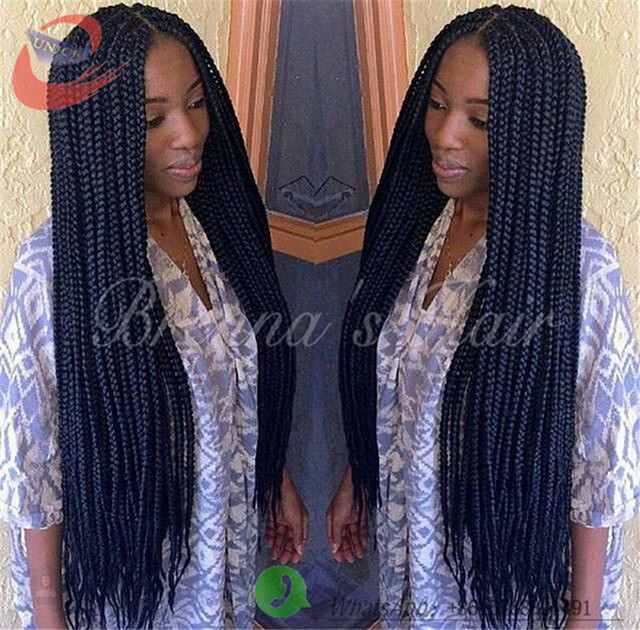 Crochet Braids On Thin Hair : ... thin&cool hair 18inch crochet Twist Hair box braids crochet braids