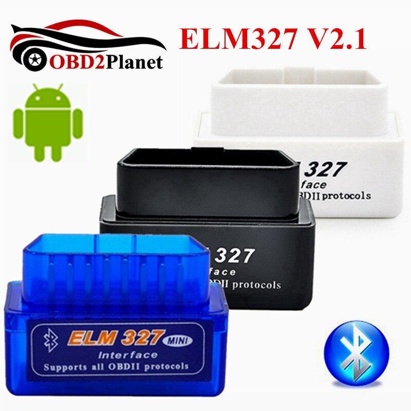 2017 New Release Super Mini ELM327 Bluetooth V2.1 OBD2 Auto Code Reader Elm 327 Mini Car Diagnostic Tool For Android Torque
