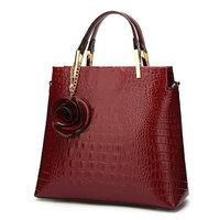 2018 Luxury Leather Crocodile Handbags Women Bags Designer High Quality Fashion Crossbody Bag For Women Handbag