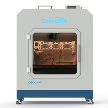 CreatBot 3d printer D600 PRO Dual Extruder hot enclosed chamber auto-level bed  600*600*600mm