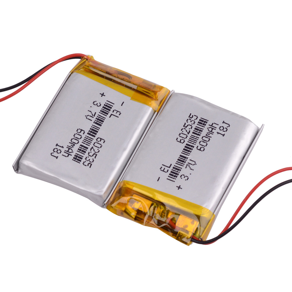 <font><b>3.7V</b></font> <font><b>600mAh</b></font> 602535 Lithium Polymer Li-Po li ion Rechargeable Battery Lipo cells For Car DVR Tachograph Bluetooth speaker MP3 MP4 image