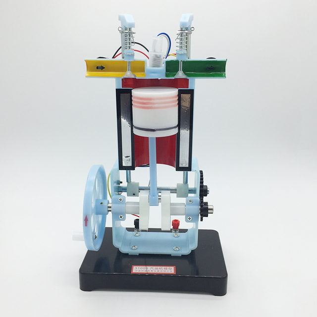 gasoline internal combustion engine model 4-stroke single cylinder junior  high school physics experiment teaching equipment