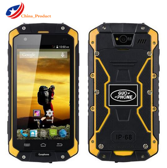 24 Hours Shipping Guophone V9 IP68 Rugged Waterproof 4000mAH MTK6572 Android 4 4 4 5