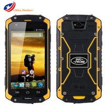 """Первоначально Guophone V9 IP68 прочный водонепроницаемый мобильный телефон MTK6572 Android 4.4 4.5 """"IPS 512 МБ + 4 ГБ WCDMA 3 г мобильного телефона"""