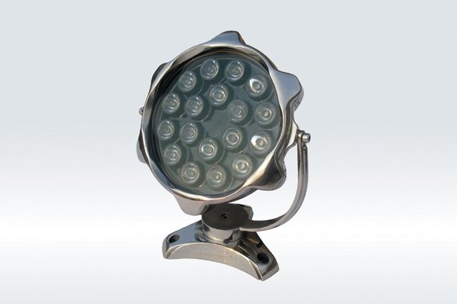 18*1WLED Underwater Light;DMX512 compatible;DC12V input;IP68;Stainless steel housing;please advise the color you need