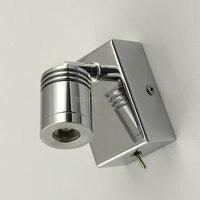 Light For Bed Easy Install Edison LED 3W Volt 100V 240V Universal Head Flexible As Per