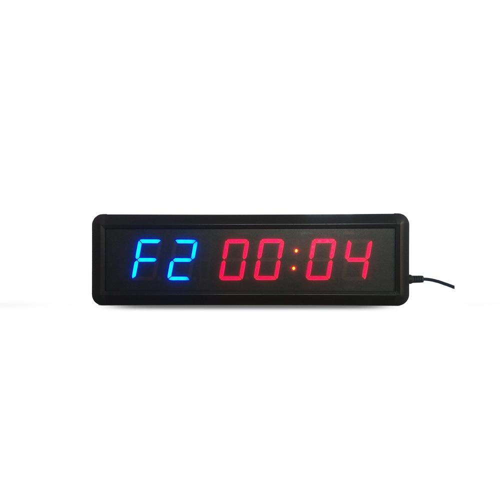 liela izmēra, funkcionāls, fitnesa taimera pulkstenis 1,8 collu - Mājas dekors - Foto 5