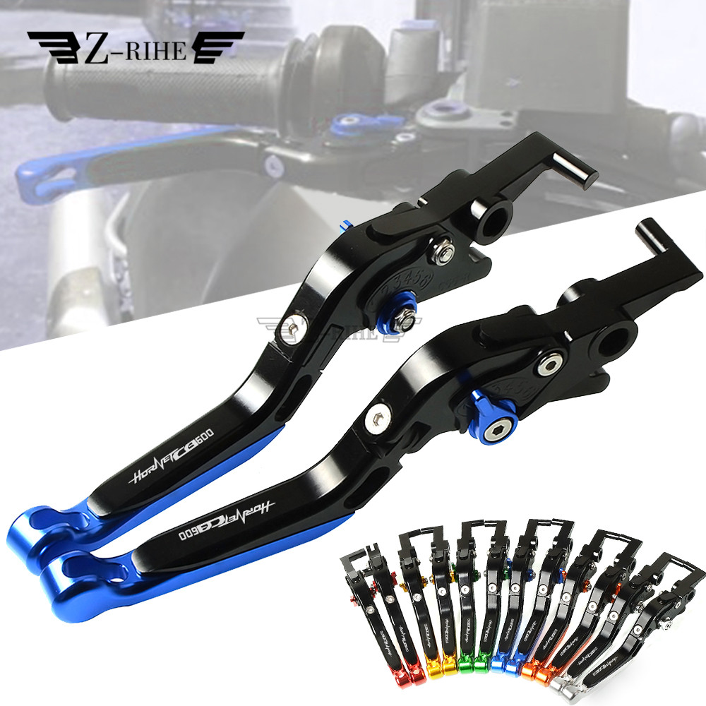 For <font><b>HONDA</b></font> CB599 CB600 <font><b>HORNET</b></font> CB 599 CB <font><b>600</b></font> 1998-2006 Motorcycle Accessories CNC Adjustable Motorcycle Brake Clutch Lever image