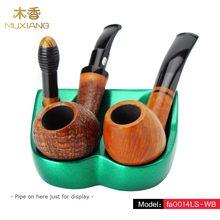 MUXIANG 1pcs Green Romanesque/Scoop type Tobacco Pipe Stands
