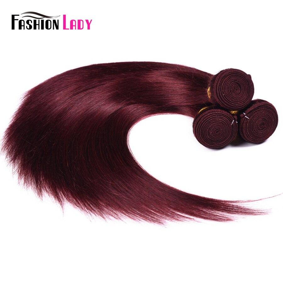 cabelo reto 3 pacotes com frontal 100%