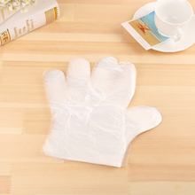 100Pcs  Disposable Gloves One-off Plastic Glove Clear Disposable Food Gloves for Industrial Medical Restaurant Cleaning Gloves