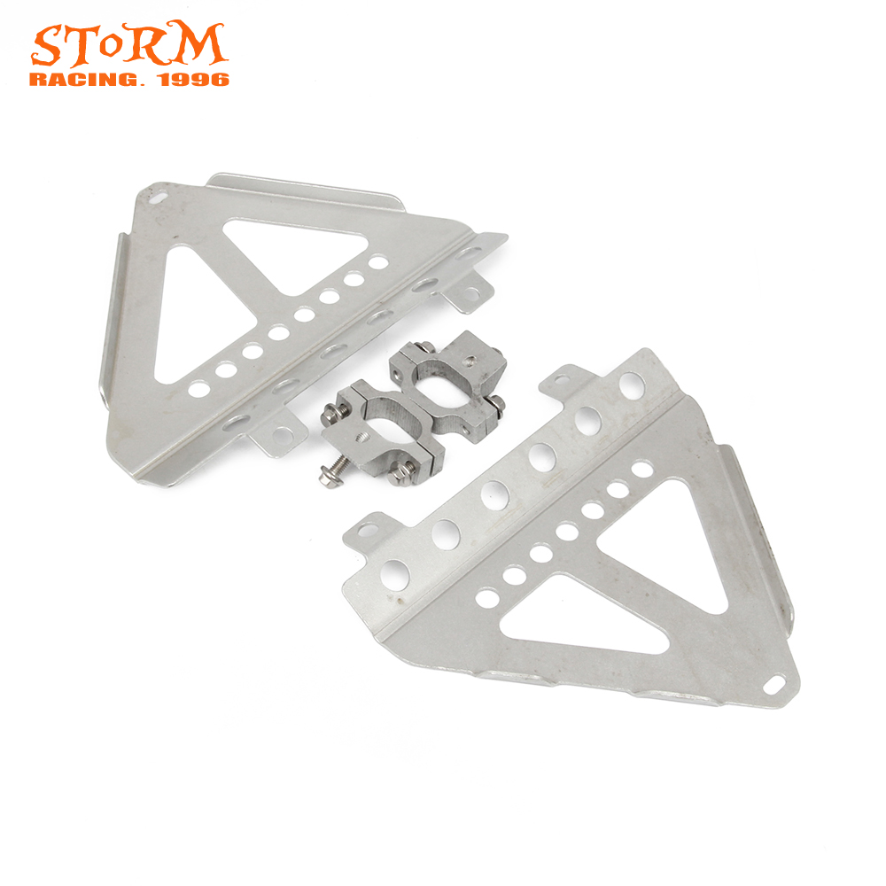 Motorcycle Radiator Cooler Guard Bracket Protection For Honda CRF250R CRF 250R 2014 2015 2016