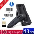 Symcode MJR40 Bluetooth 2,4 ГГц беспроводной 1D сканер штрих-кодов экран мобильный платеж 1D считыватель штрих-кодов