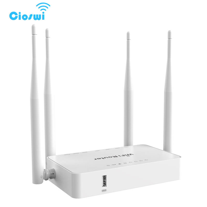 192.168.1.1 1 WAN 4 port openWRT usb wi fi router with 4 external antennas