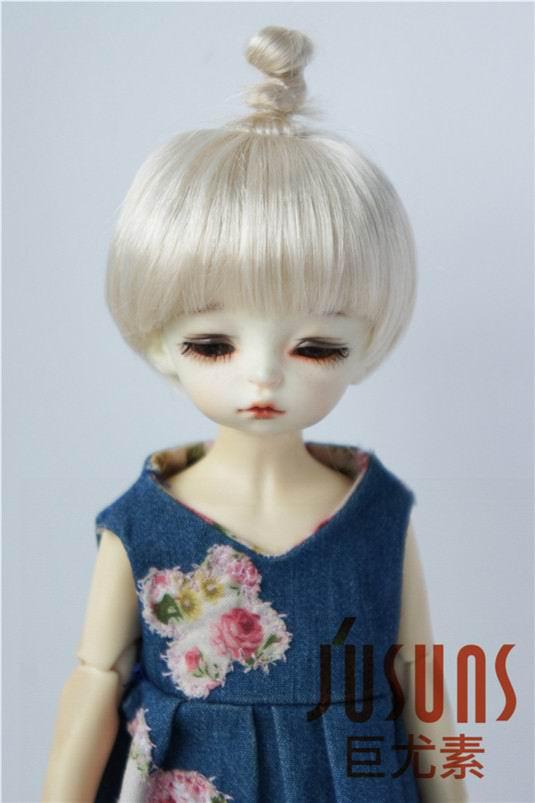 JD363 6-7inch 16-18CM Synthetic mohair doll wigs 1/6 YOSD Updo BJD hair 363 6