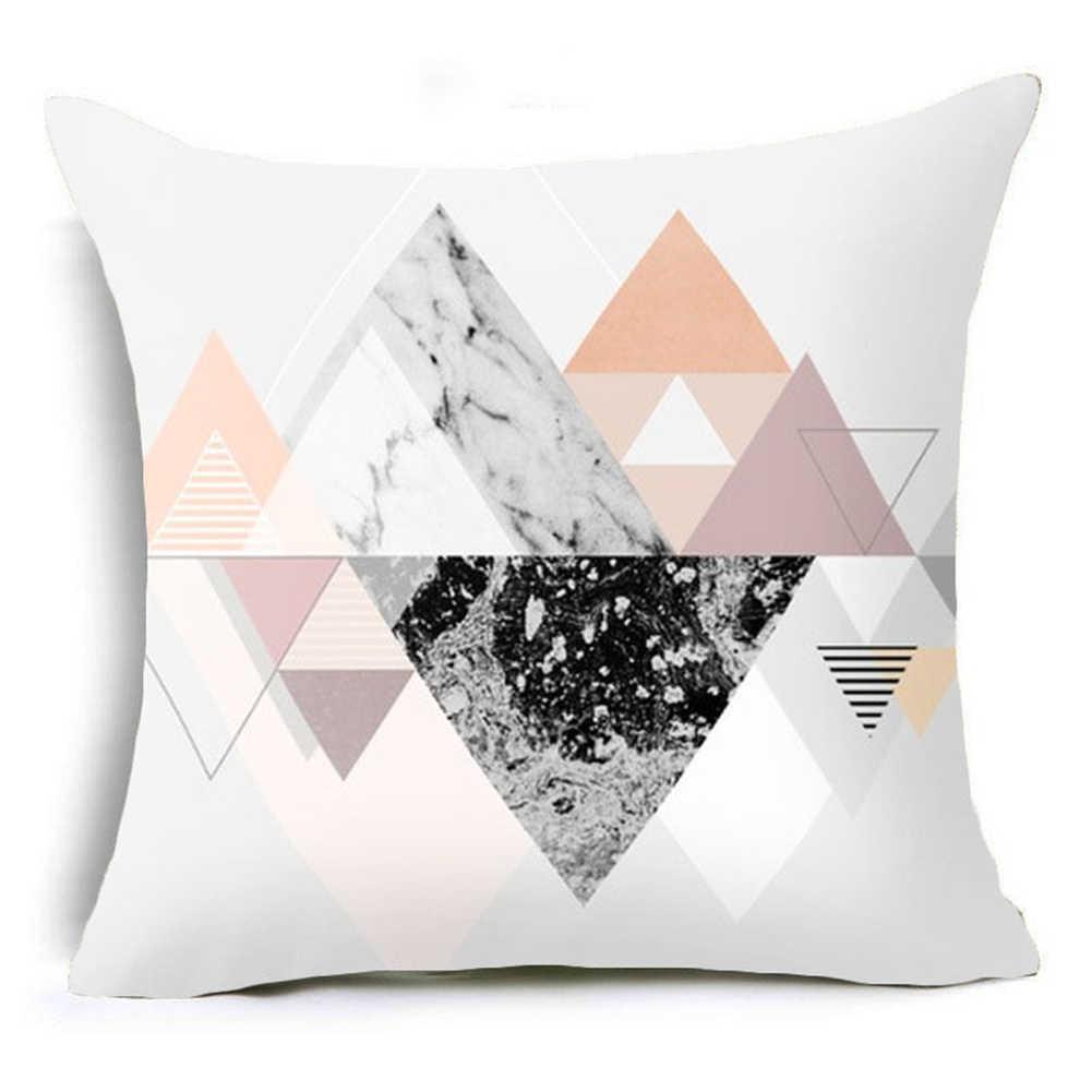 الأزياء إلكتروني زهرة نمط هندسي رمي كيس وسادة غطاء وسادة المنزل ديكور للكنبة