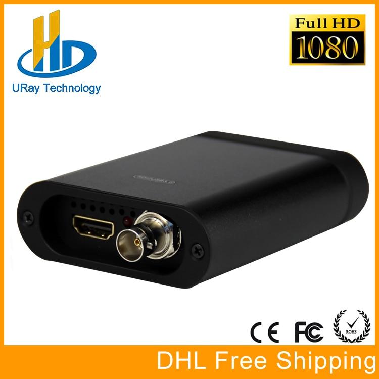 Full HD 1080 P HDMI SDI Capture Carte USB3.0 Jeu Capture Dongle HD Vidéo Audio Grabber Pour Windows, Linux