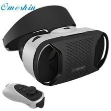 Красивый Подарок Новый Картон WI-FI VR ОКНО Виртуальной Реальности 3D очки Для iphone 6s IOS + Пульт Дистанционного Управления Оптовая цена Apr1