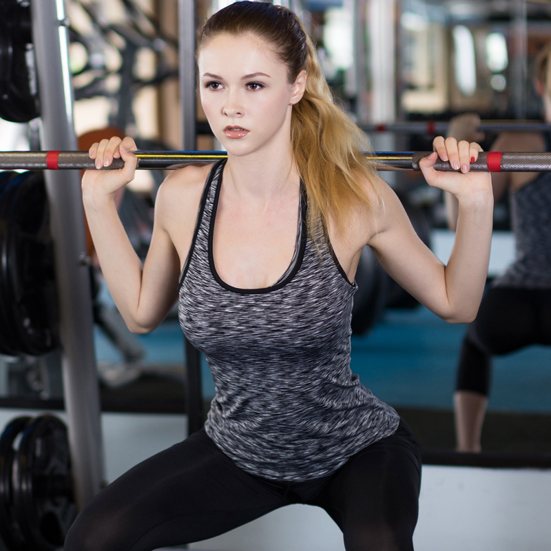 YD Leopardo Sin Mangas Camisa de Yoga Deporte Chaleco Volver Crossfit - Ropa deportiva y accesorios - foto 2
