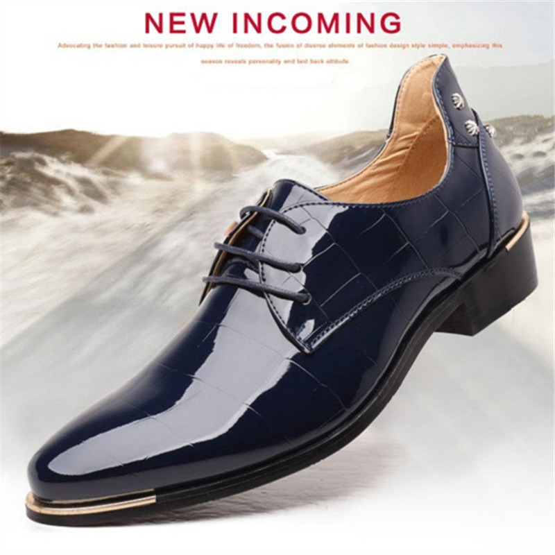 RUIDENG men party Dress shoes breathable fashion wedding casual shoes - Men's Shoes - Photo 2