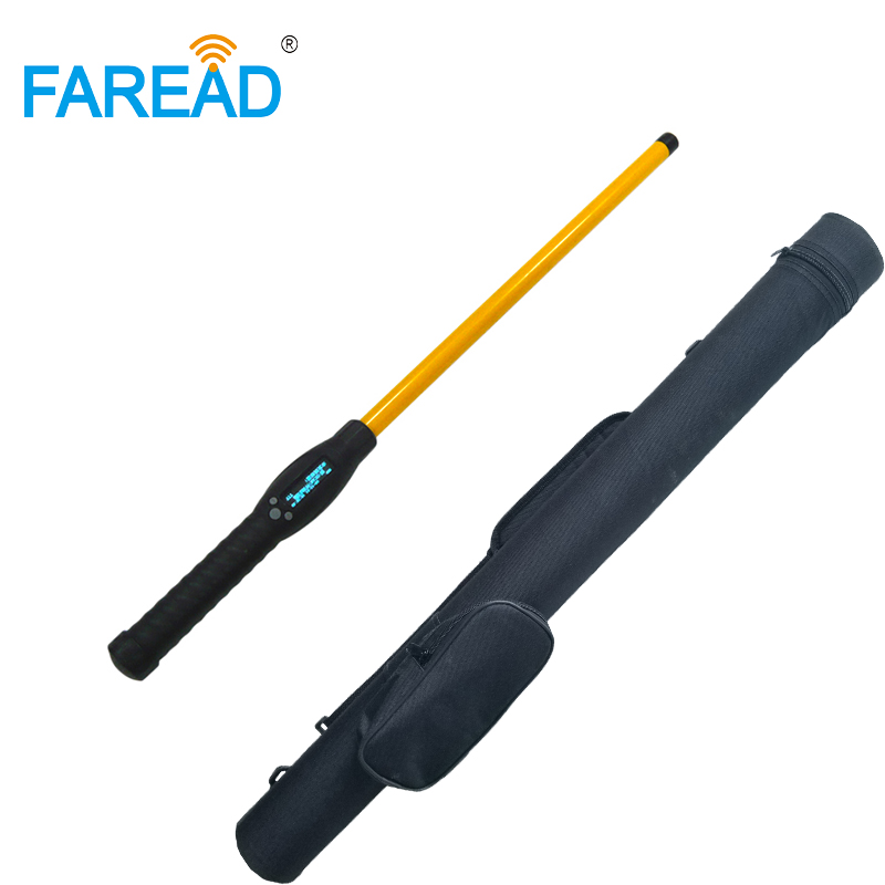 Bluetooth RFID Stick Reader USB FDX-B HDX handheld portable animal chip scanner for ear tag livestock identification Android app image