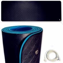 Заземления Yoga коврик ЭДС защита для здоровья 6 футов 2 ноги Бесплатная DHL или EMS шнур 5 М.