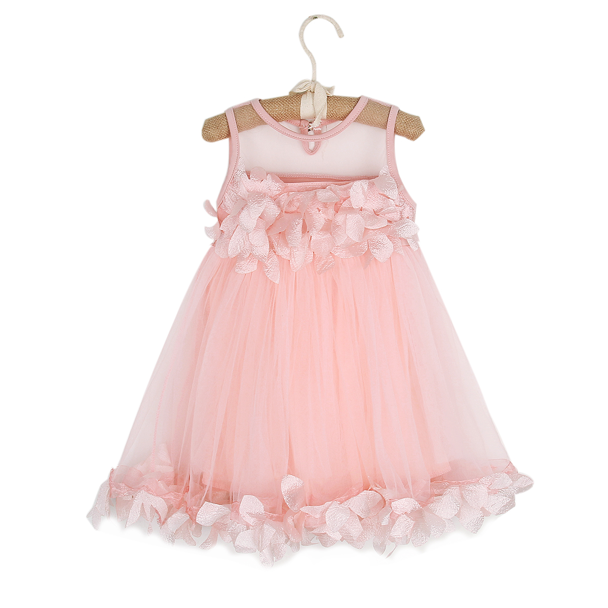 Toddler Kids Baby Girls Summer Princess Mesh Tutu Dresses Flower Sleeveless Birthday Prom Pageant Party Wedding Dresses 1T-6T toddler kids baby girls princess dress party pageant wedding dresses with waistband