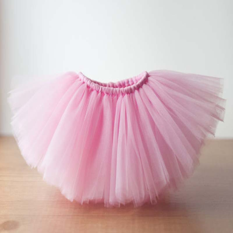 Summer Style Newborn Baby Pink Tutu DIY Handmade Boutique Skirts For Toddler Girls In From Mother Kids On Aliexpress