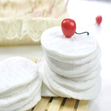 Free shiping Washable Ecological Cotton Breast Nursing Pads Reusable Breastfeeding Absorbent