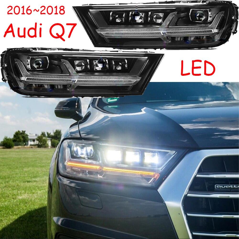 Video display,Q7 Headlights,2016~2018,LED,Q7 daytime light,A4,A5,A8,A6,A6L,car accessories,Q7 Fog light,TFSI,TSI,Q7 head lamp