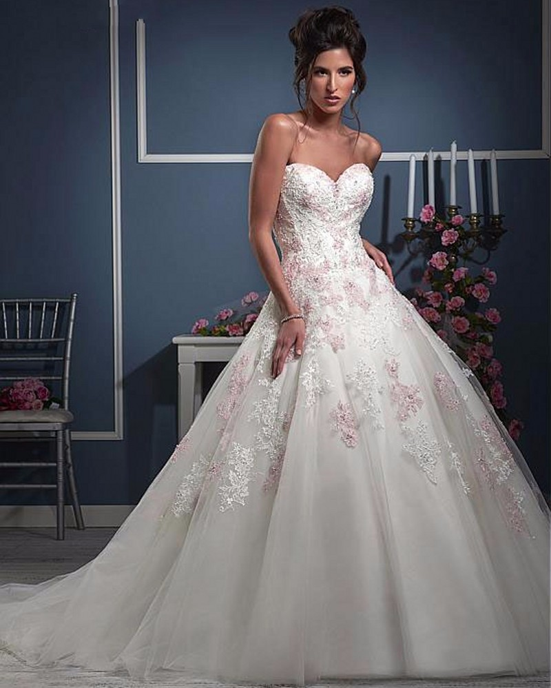 Wedding Gowns In Color: Vintage Color Camouflage Wedding Dresses Ball Gown Country