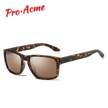 dd0c28fda0 Pro Acme Marque Classique HD lunettes de Soleil Polarisées Hommes Conduite  Miroirs Carré Lunettes Mâle lunettes de soleil pour H..