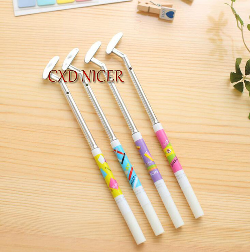 Golf Styling Korean Neutral Pen Material Escolar Creative Gift Office Signature Pen School Supplies Dd1259