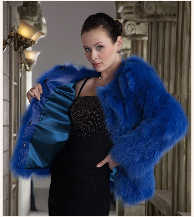 Compare Prices on Blue Fox Fur Coat- Online Shopping/Buy Low Price