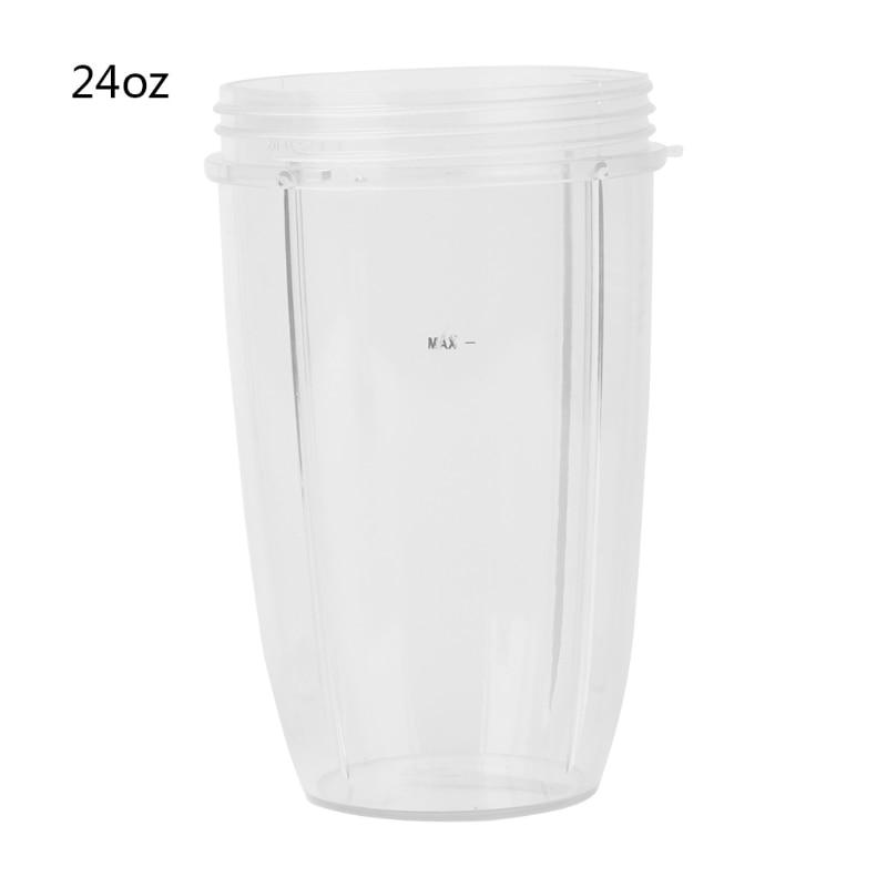 juicer 24 - Juicer Cup Mug Clear Replacement For NutriBullet Nutri Bullet Juicer 24OZ