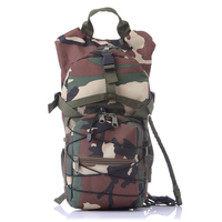 2.5L Water Bag Outdoor Camping Camelback Molle Military Tactical Hydration Backpack Nylon Camel Bladder for Cycling Bottle