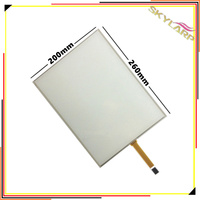 Original 12 1 Inch 4 3 4 Wire Resistive Touch Screen Panel 4 Pin Dupont 2