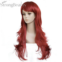Strong Beauty Long Wave Women Wigs Female Full Capless Synthetic Wig