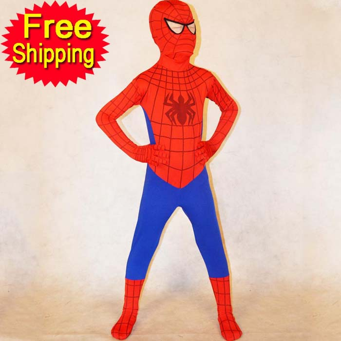 Halloween Costumes for kids boys Spiderman costume Child Superhero blue red party Spider man cosplay costume spandex zentai on Aliexpress.com | Alibaba ...  sc 1 st  AliExpress.com & Halloween Costumes for kids boys Spiderman costume Child Superhero ...
