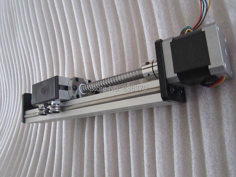 High Precision SG Ballscrew 1204 600mm Travel Linear Guide + 57 Nema 23 Stepper Motor CNC Stage Linear Motion Moulde Linear некрасова я в милан шопинг рестораны развлечения