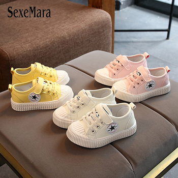 Kids Shoes Girls Casual Shoes Sneakers Spring Summer Children Boys Flat Shoes Rubber Sole Star Shoes Baby Tenis Infantil C07043 children canvas shoes fashion casual boys sneakers breathable girls flat shoes toddler baby kids shoes tenis infantil sapato