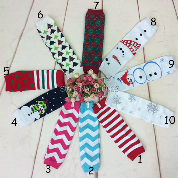free shipping baby boys 5pcs/lot merry christmas cotton leg warmers lot kids baby leg warmers