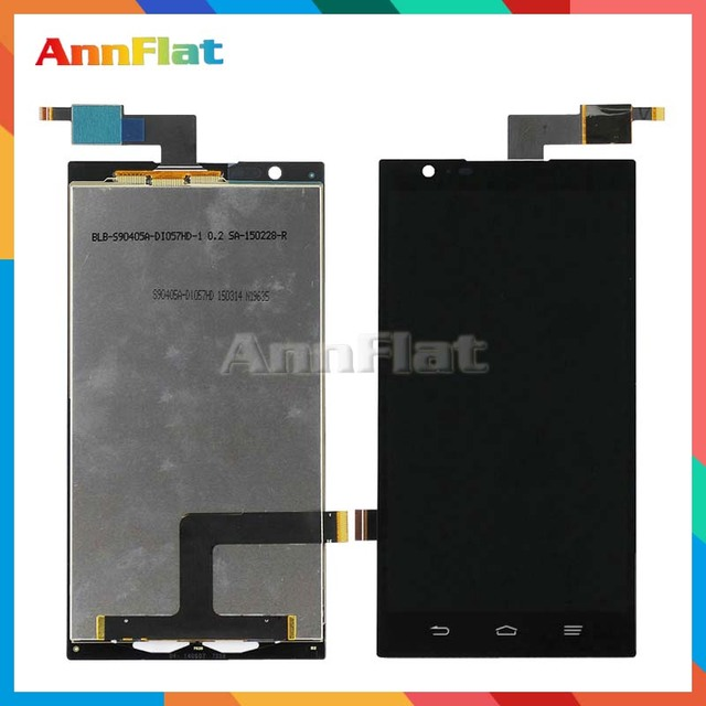 high quality 6.0'' For ZTE Z970 LCD Display Screen With Touch Screen Digitizer Assembly Free shipping