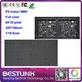 SMD2121 p5 крытый rgb LED дисплей модуль 64*32 пикселей 320*160 мм 16 S rgb светодиодные панели, светодиодные видео стены, светодиодные видео рекламы доска