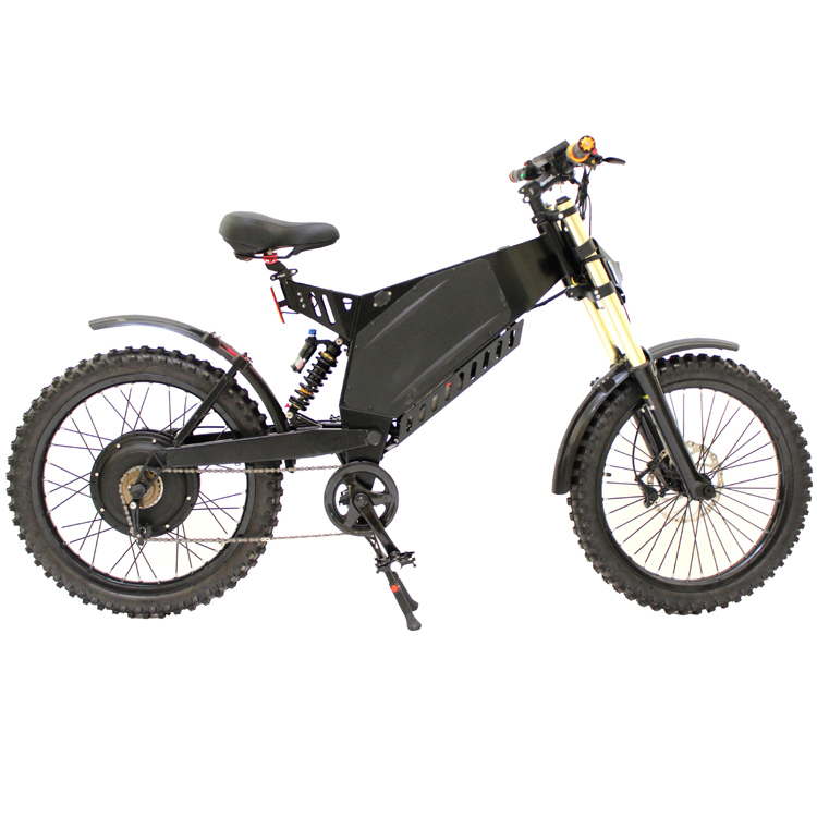 custom made 72v 3000w plus stealth bomber stealth bomber electric bike mountain bike in electric. Black Bedroom Furniture Sets. Home Design Ideas