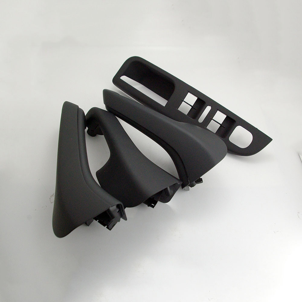 OEM Interior Black Door Knob&Handle Cover&Master Bezel For VW Jetta Golf GTi Mk5 1K0 868 187 H 1K0 868 188 H 1K0 868 040 B free shipping for vw passat b5 door handle interior handle armrest handle for cherry wood free ship