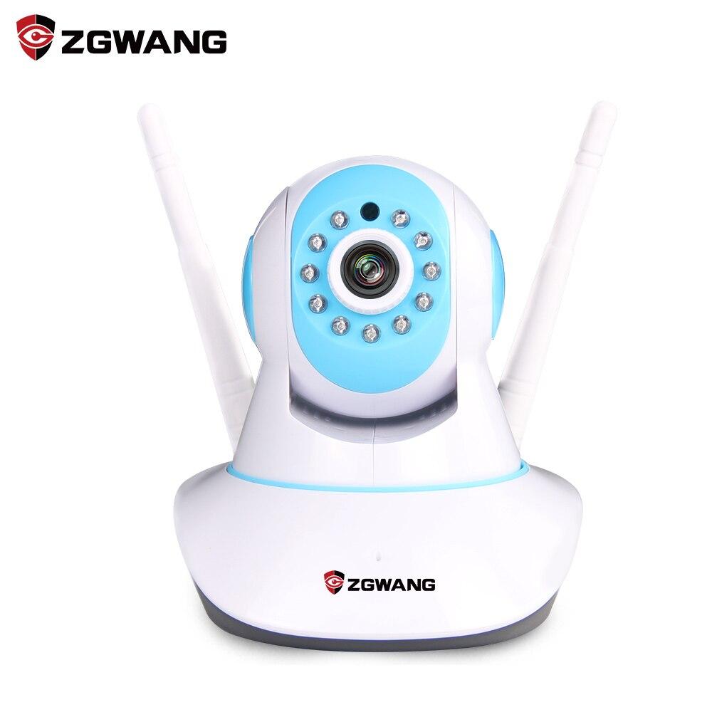 ZGWANG 960P Security Network IP Camera Dual Antenna Pan&Tilt P2P Wifi Wireless Security Camera Night Vision Micro SD Card slot amandeep kaur parminder singh and ginni sharma micro strip wearable antenna