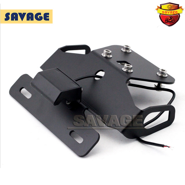For KAWASAKI NINJA250R EX250R NINJA300R Z250 Z300 Motorcycle Fender Eliminator Registration Plate Bracket License Plate Holder motorcycle tail tidy fender eliminator registration license plate holder bracket led light for ducati panigale 899 free shipping